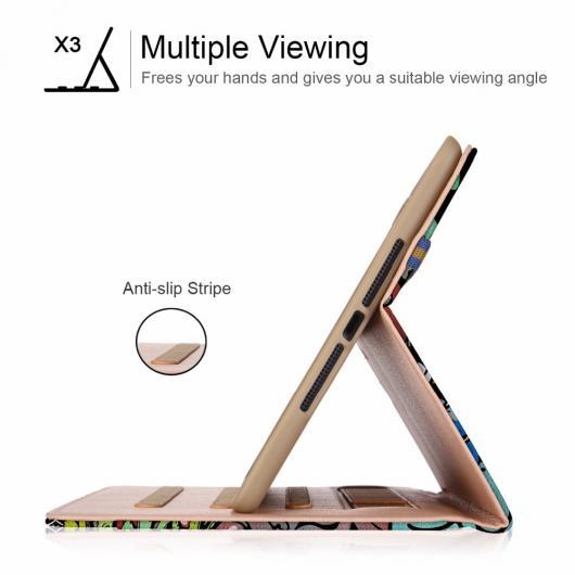 AL iPadケース iPad 9.7 2018 2017 A1893 A1954 タブレットスタンド PU レザー カバー ケース Apple iPad 2018 ケース iPad Air Air 2 選べる6バリエーション AL-AA-6350