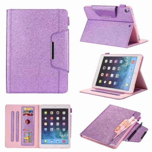 AL iPadケース ケース iPad 5 Air 6 Air 2 PU レザー ソフト グリッター PU レザー バック Apple iPad Pro 9.7-2016 2017 2018 ケース 選べる3バリエーション style 1/style 2/style 3 AL-AA-6391