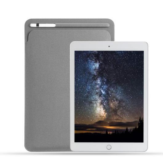AL iPadケース クロス テクスチャ PU iPad Pro 10.5 ポーチバッグカバー ペンシル スロット iPad Pro 9.7 iPad 9.7 2018 リリース 選べる4カラー ブラック,レッド,ブルー,グレー AL-AA-6404