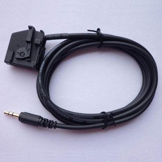 AL 車用ケーブル 2.0 AUX 入力 オーディオ ケーブル メルセデス・ベンツ CLK SL SLK W168 W202 W203 W208 W209 W211 W461 W463 W164 R170 COMAND 2.0 選べる2カラー ブラック,グレー AL-AA-6628
