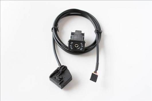AL 車用ケーブル AUX ケーブル ソケット オーディオ アダプタ ハーネス メルセデス・ベンツ COMAND 2.0 AL-AA-6646