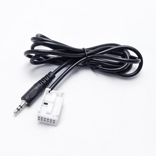 AL 車用ケーブル プラグ AUX アダプタ 3.5 mm コネクタ ベンツ SLK R171 SL R230 オーディオ メディア ケーブル データ線 AL-AA-6702