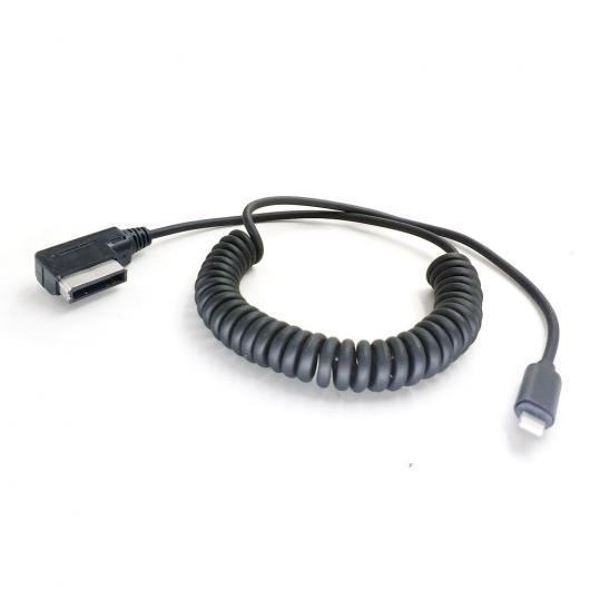 AL 車用ケーブル メディアインターフェース オーディオ AMI AUX 充電 メルセデス・ベンツ iPhone X I8 I7 AL-AA-6707