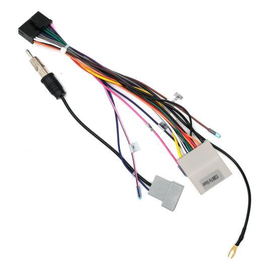 AL 車用ケーブル コネクタ ISO ケーブル 日産 シリーズ カー DVD マルチメディアプレーヤー無線システム AL-AA-7394