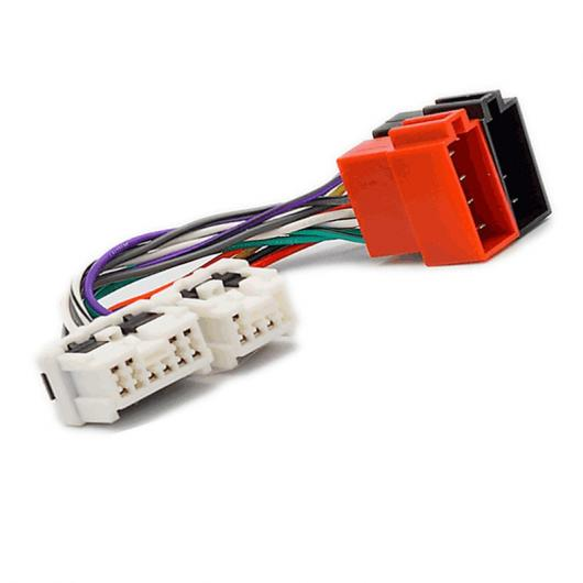 AL 車用ケーブル ラジオ ステレオ ISO 標準配線ハーネス 日産 エクストレイル T30 300ZX Z32 350Z マキシマムラーノスカイラインパルサーパスファインダー AL-AA-7411