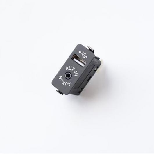 AL 車用ケーブル AUX 入力 USB ソケットスイッチ オーディオ アダプタ ケーブル BMW E60 E61 E63 E64 E66 E81 E82 E70 E90 only aux usb switch AL-AA-7041