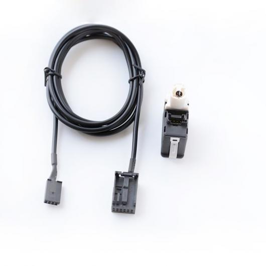 AL 車用ケーブル USB AUXインプラグソケット オーディオセット BMW Z4 E85 E83 X3 X5 ミニクーパー switch and cable AL-AA-7151