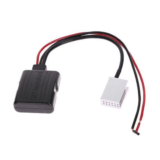 AL 車用ケーブル 1ピース オート Bluetooth オーディオ アダプタ レシーバー AUX 12ピン アダプタ スピーカー A2DP BMW AL-AA-7230