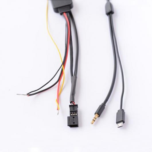 AL 車用ケーブル Bluetooth モジュール音楽 オーディオ アダプタ 充電 ケーブル BMW E39 E46 E53 X5 プロ 16:9 ナビゲーション for android AL-AA-7271