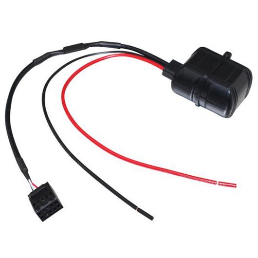 AL 車用ケーブル カー Bluetooth モジュール 12 ボルト AUX 10ピン ケーブル AUX オーディオ アダプタ BMW E46 3 シリーズ 09 2002 AL-AA-7304