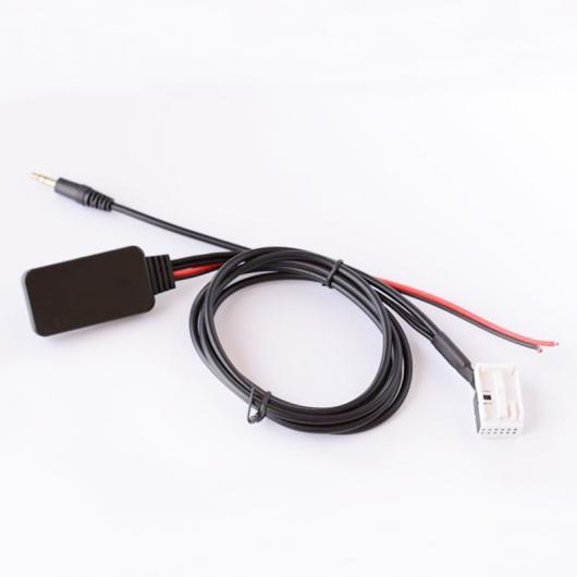 AL 車用ケーブル カー Bluetooth モジュール AUX IN オーディオ ケーブル 12ピン ワイヤレス AUX アダプタ BMW E60 04-10 E63 E64 E61 AL-AA-7308