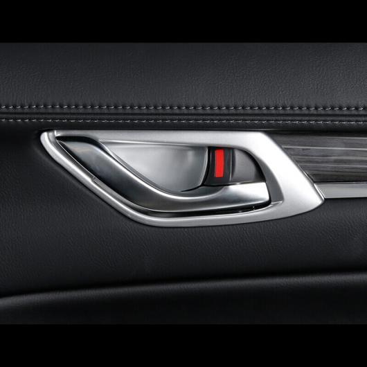 AL 車用メッキパーツ ABS クローム インナードアノブトリム マツダ CX-8 CX8 2017 2018 2019 AL-AA-7987