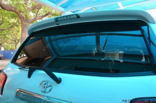 AL ABS リア ウイング リア トランク ルーフバイザー リアスポイラー トヨタ セコイア 5700 SR5 2010-15 未塗装 AL-AA-8068
