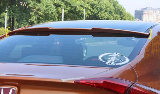 AL 未塗装 ABS スタイル テールウィング リアスポイラー ルーフバイザー ホンダ シビック 2016 AL-AA-8088