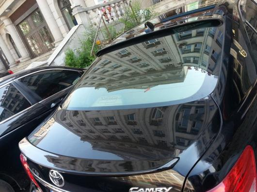 AL 未塗装 ABS テールウィング ルーフバイザー リアスポイラー リップ トヨタ カムリ 2006-2011 AL-AA-8090