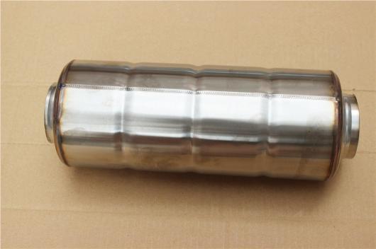 AL 汎用マフラーチップ マフラーカッター L: 300mm レーシング エキゾースト パイプ 選べる3バリエーション IN 51mm~IN 76mm AL-AA-9201
