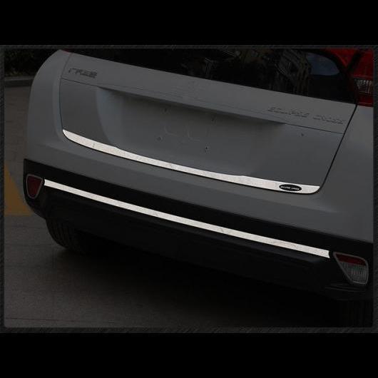 AL トランク リア プロテクタートリム カバー リア バンパー プロテクター シル テール ドア 三菱 エクリプスクロス 2018 2019 stainless steel 2pcs AL-AA-9311