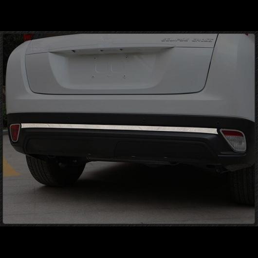 AL トランク リア プロテクタートリム カバー リア バンパー プロテクター シル テール ドア 三菱 エクリプスクロス 2018 2019 stainless steel 1pcs AL-AA-9311