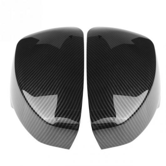AL 三菱 エクリプスクロス 2017-2018 1 ペア サイド ドア バック ミラー カバー トリムキャップキーバッグキープロテクター カーボン AL-AA-9335