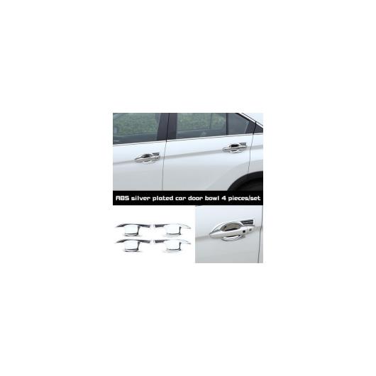 AL ABS シルバーメッキカー 三菱 エクリプスクロス ドアボウル 装飾 フレーム 4個 セット ABS silver plated AL-AA-9271
