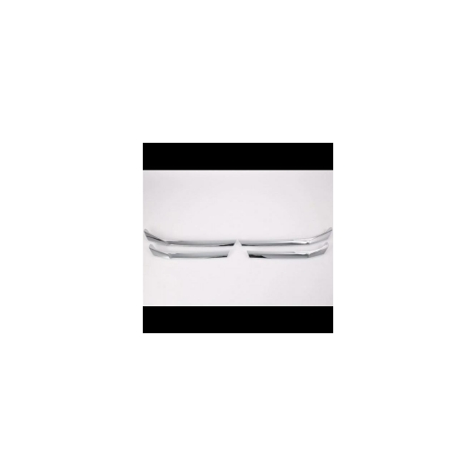 AL カバー 三菱 エクリプスクロス 2018 2019 ABS クローム フロント ヘッドグリル インテーク アッパートリム 4pcs AL-AA-9294