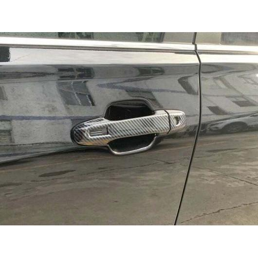 AL スバル フォレスター SK 2018 2019 カーボン ファイバー スタイル ドア ハンドルボウル カバー カップ トリム インサート キャッチ hand AL-BB-0536