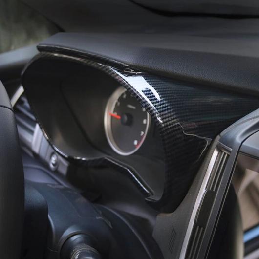 AL カーボン ファイバー ABS 機器 ダッシュボード パネル カバー スバル フォレスター トリム SK 2018 2019 2020 選べる2バリエーション ABS Chrome,ABS Carbon Fiber AL-BB-0501