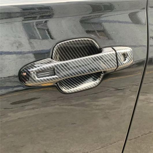AL カバー スバル フォレスター SK 2019 カーボン ファイバー ドア ハンドル ノブカップボウル トリム 選べる2バリエーション bowl trim 4pcs,handle trim 8pcs AL-BB-0514