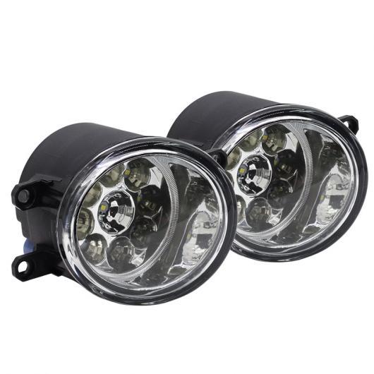 AL トヨタ アベンシス T25 コンビ T25 エステートサルーン LED ライトフォグライト DRL デイタイムランニングライト 2個 ホワイト~イエロー AL-BB-1182