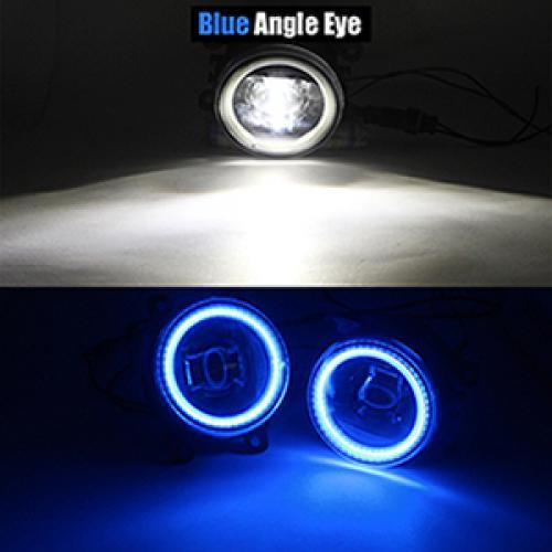 AL 2005-2012 日産 パスファインダー オフロード R51 LED フォグ ライト DRL デイタイムランニング 12V Blue Angel Eye AL-BB-1671