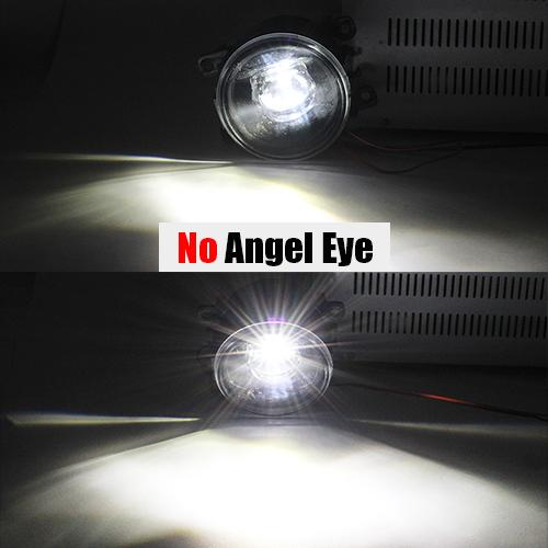 AL 日産 ナバラ ダットサントラック D40 4000LM H11 LED フォグ ライト レンズ DRL 12V 2005 2006 2007 2008 2009 2010 2011 2012 No Angel Eye AL-BB-1754