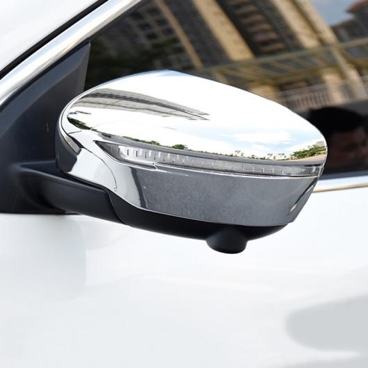 AL 日産 2017 2018 2019 エクストレイル T32 ローグ リア リアビュー バック ミラーサイド ガラス ミラー カバー トリムランプフレーム AL-BB-1813