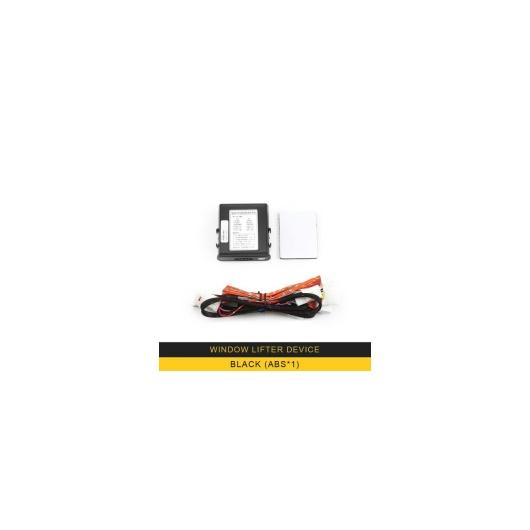 AL トヨタ プラド 2018-2019 プロ 12V パワーウィンドウ 自動 昇降 オートクローズオープン 装置 Black x1 AL-BB-1966