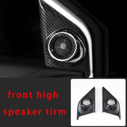 AL ホンダ CRV 2017-2018 2019 インテリア  カバー カーボン ファイバー モールディング トリム high speaker tirm AL-BB-2995