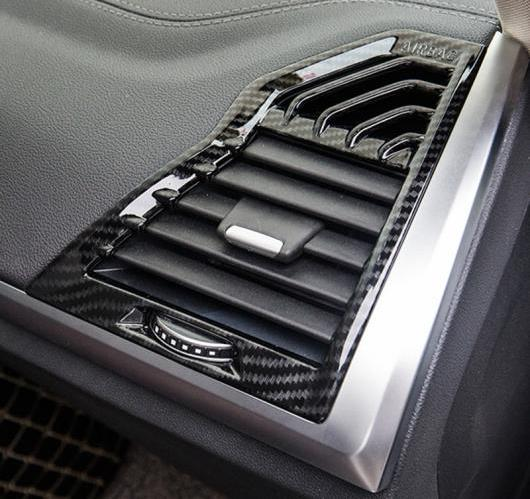 AL BMW X3 G01 G08 2018 ABS ダッシュボード エア コンディショニング フレーム カバー トリム インテリア 選べる2バリエーション ABS Matte・ABS Carbon AL-BB-6560