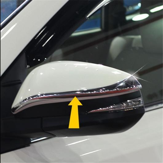 AL 2014 2015 トヨタ ハイランダー クルーガーXU50 ABS クローム サイドドア ミラー リア ビュー カバー トリム モールディング AL-BB-6702