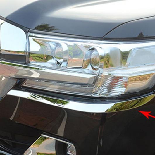 AL トヨタ ランド クルーザー FJ200 2016 2017 ABS クローム フロント ヘッド ライト ランプ アイリッド アイブロウ カバー トリム AL-BB-6716