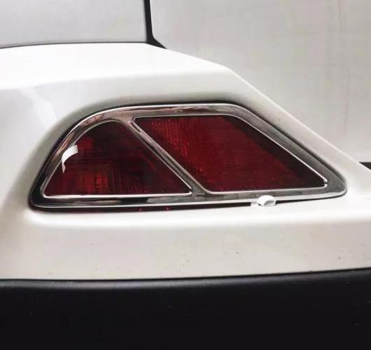 AL トヨタ RAV4 2016 ABS クローム リア テール フォグ ランプ ライト キャップ マスクステッカー モールディング カバー トリム AL-BB-6748