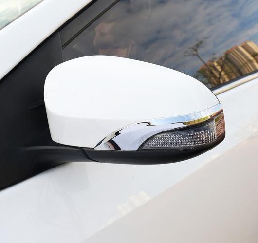 AL ABS クローム バック ミラー カバー トリム 2ピース トヨタ カローラ E170 2013 2014 2015 2016 AL-BB-6819