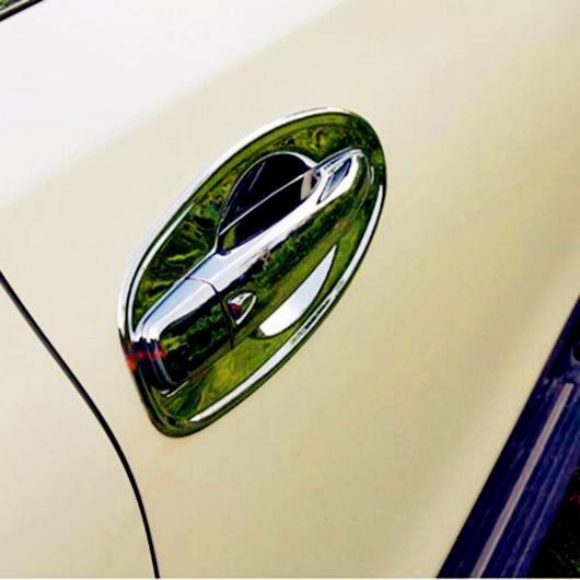 AL 日産 エクストレイル 2014 2015 2016 8ピース ABS クローム ドアハンドルボウル カバー トリム モールディング ステッカーベゼル AL-BB-6867