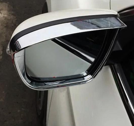 AL 日産 エクストレイル ローグT32 2014 2015 2016 リア VIEW ミラー カバー バック レイン シールドバイザー ABS AL-BB-6902