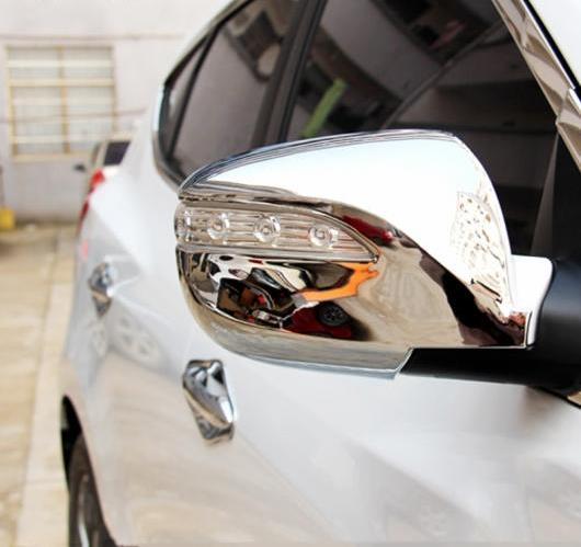 AL ヒュンダイ IX35 2010 2011 2012 ABS クローム ボディ スティック リア ビューバック サイド ガラス ミラー カバー トリム 2ピース AL-BB-6953