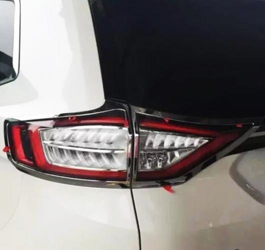 AL フォード エッジ2015 ABS クローム オート リア バック ライト ランプ カバー トリム テール フレーム 4ピース/セット AL-BB-6980