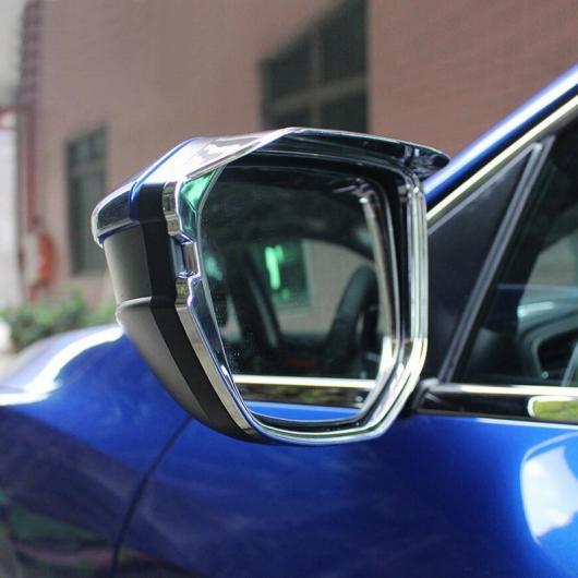 AL ホンダ シビック2016 ABS クローム 反転 ミラー レイン アイブロー ステッカー ケース カバー AL-BB-7039