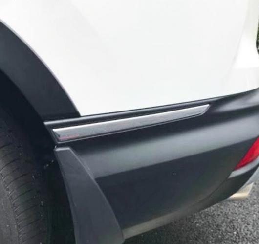 AL ホンダ CRV CR-V 2017 2018 ABS クローム リア トランク バンパー カバー トリム モールディング コーナー下 AL-BB-7066