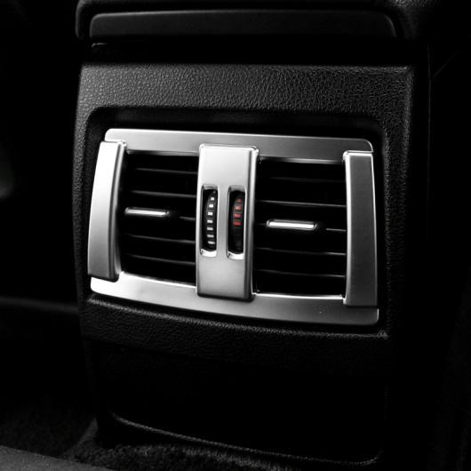 AL クロームインテリア後部 シート エアベント カバー トリム装飾 BMW 3 4シリーズGT F30 F34 2013-2018 AL-CC-7181