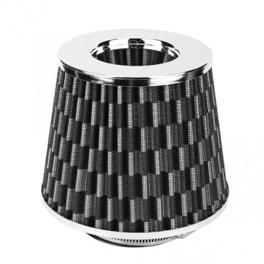 AL ユニバーサル 63mm 鉄 ハイ エアマルチ直径キノコヘッドエアフィルターキット エアインテーク フィルター Carbon grain AL-DD-0047