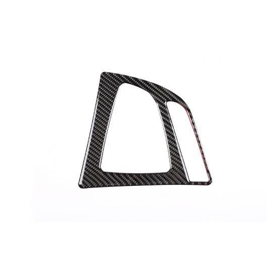 AL カーボンファイバー 中央 コントロール ギア 装飾 フレームステッカー BMW F30 F35 2013-2018 Carbon Fiber AL-DD-4380
