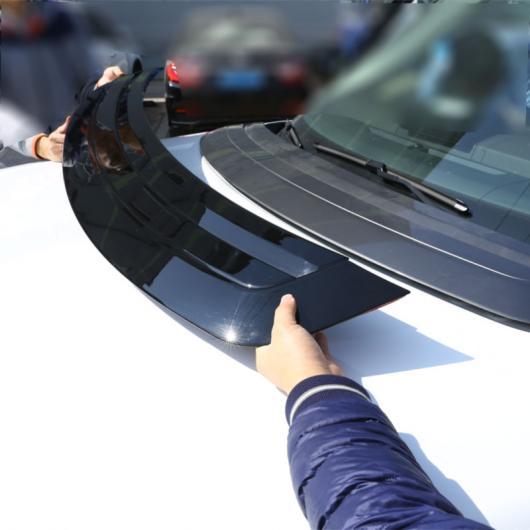 AL 光沢 ブラック ABS クロームフードパネル カバー トリム ローバーレンジローバーヴォーグ LR405 2013-2017 モデル AL-DD-4326