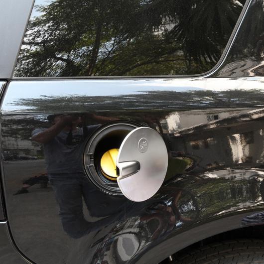 AL ランドローバーフリーランダー 2 ABS プラスチックマットシルバー外装 フューエル タンク カバー トリム 選べる2バリエーション Style 1・Style 2 AL-DD-5625
